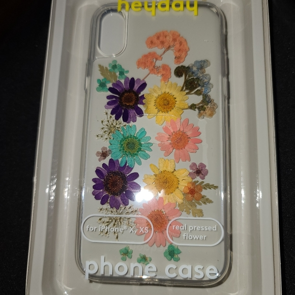 Heyday heyday Apple iPhone X,XS Case -Dried Floral